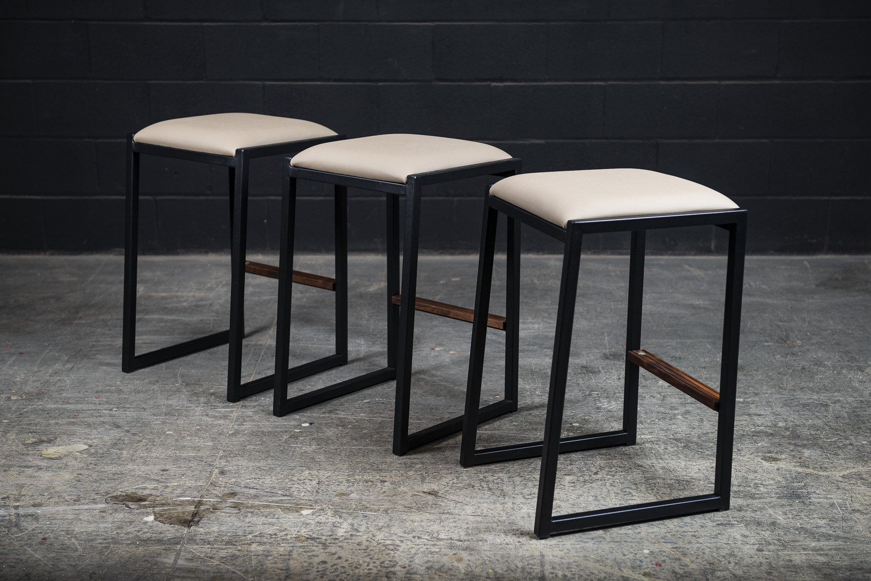 Shaker Backless Counter Stool