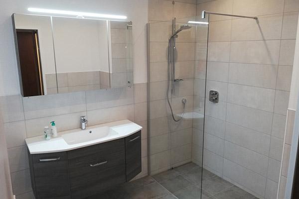 Komplette Badsanierung & WC in Graz-Liebenau