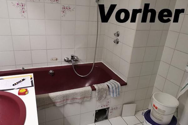 Badezimmer vorher 1