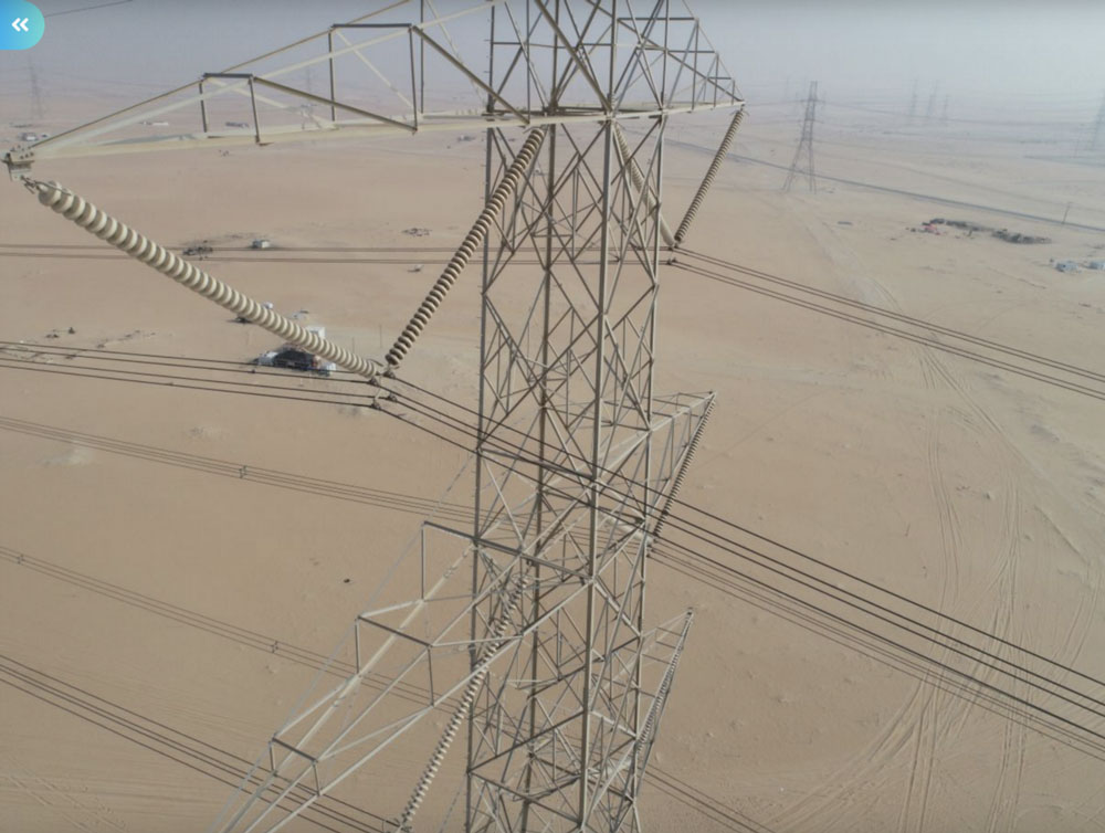 Sterblue drone picture from Transmission Tower