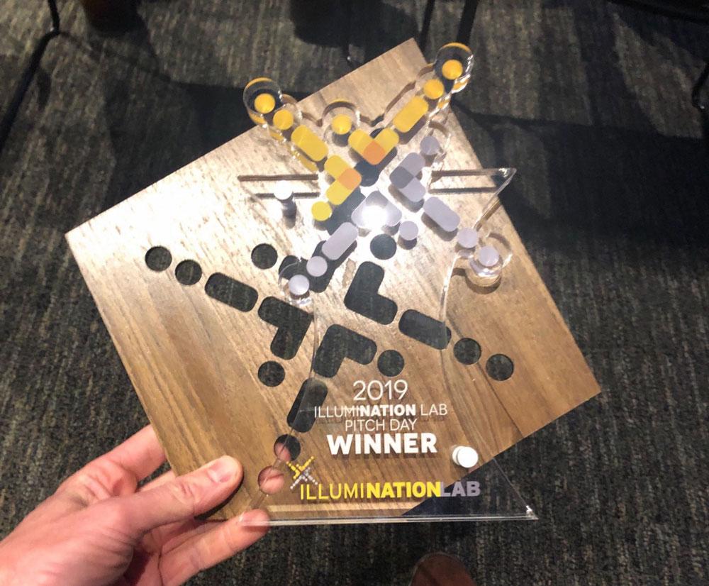 IlluminationLab Pitch Day Winner Award