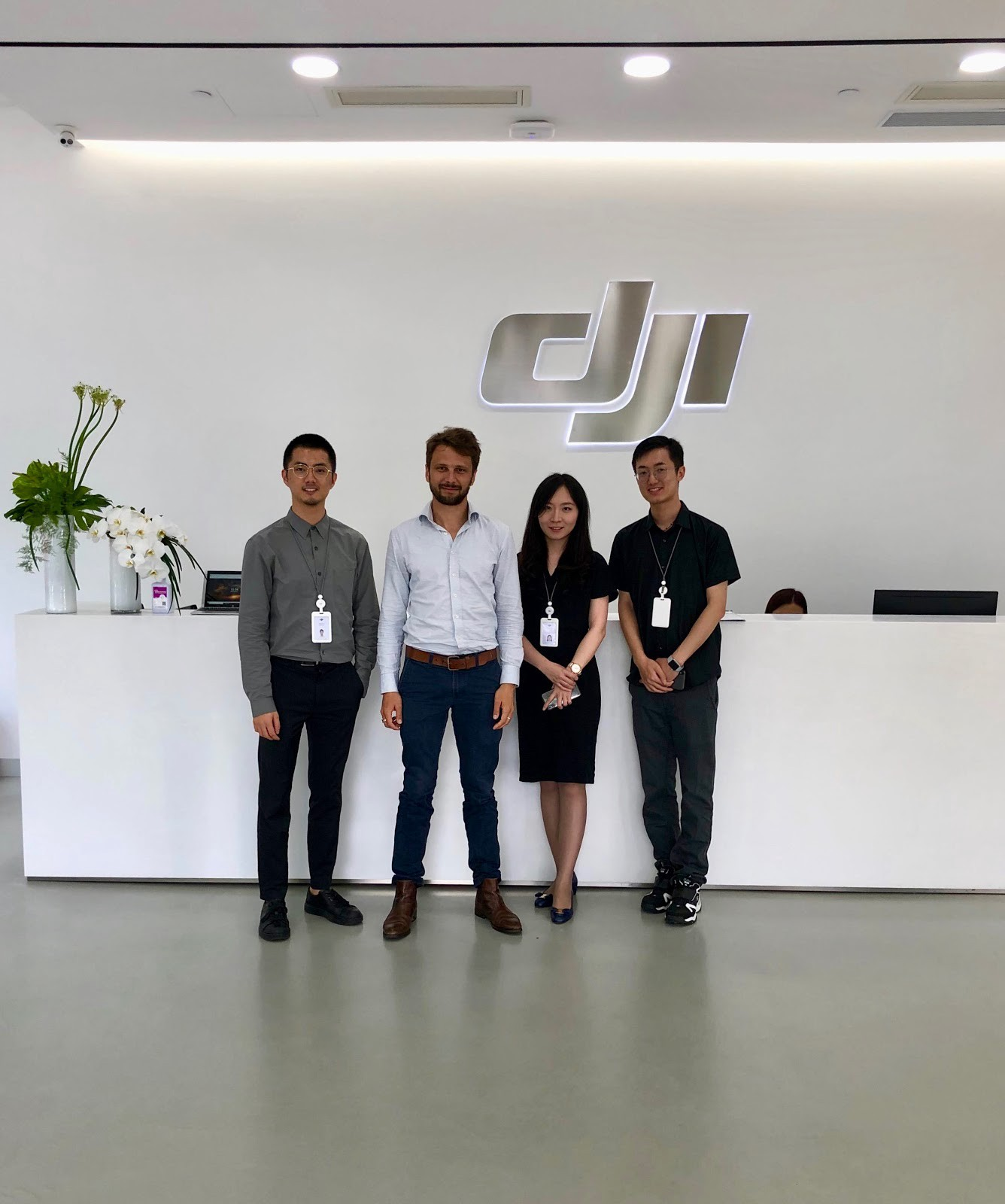 DJI and Sterblue meeting at DJI headquarter in Shenzhen