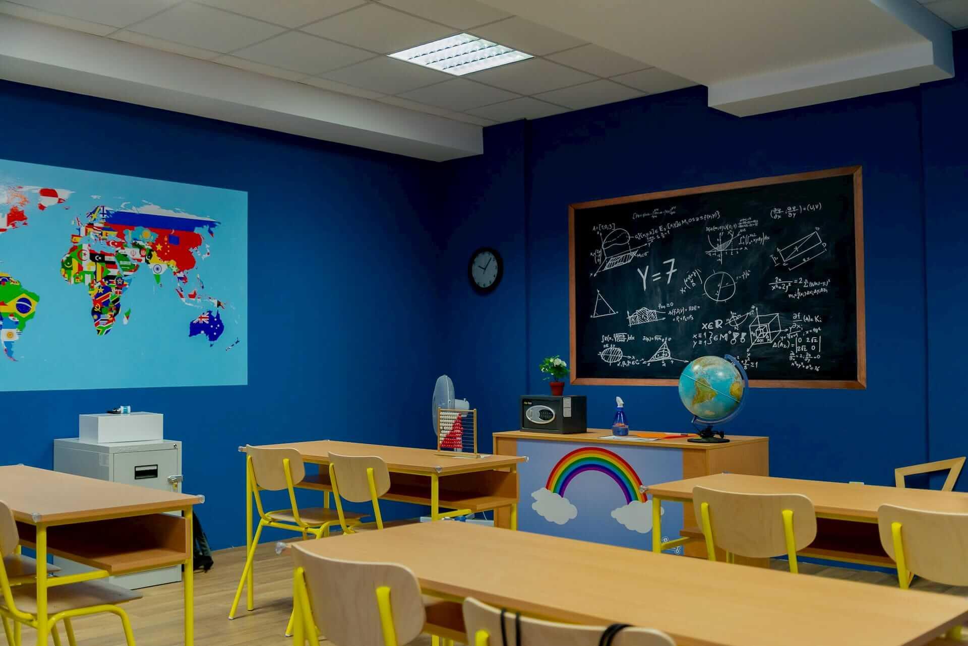 Alien invasion classroom