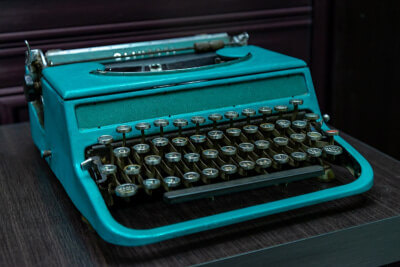 Vintage type machine