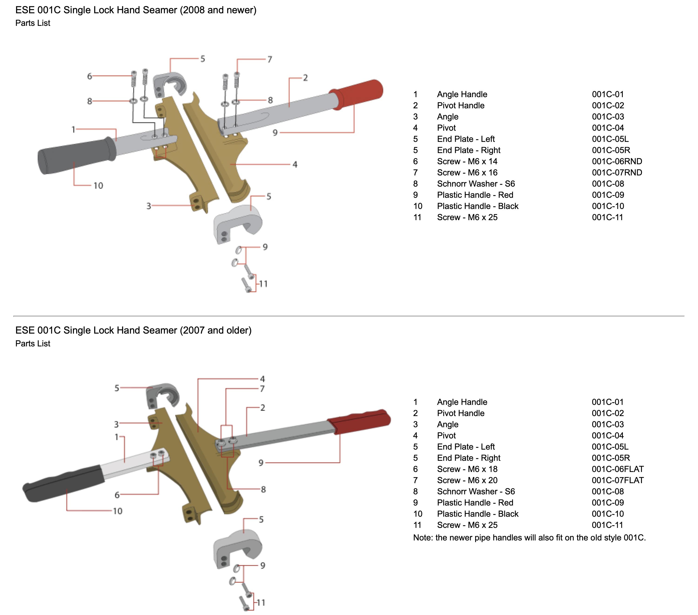 ese-001c-single-lock-hand-seamer