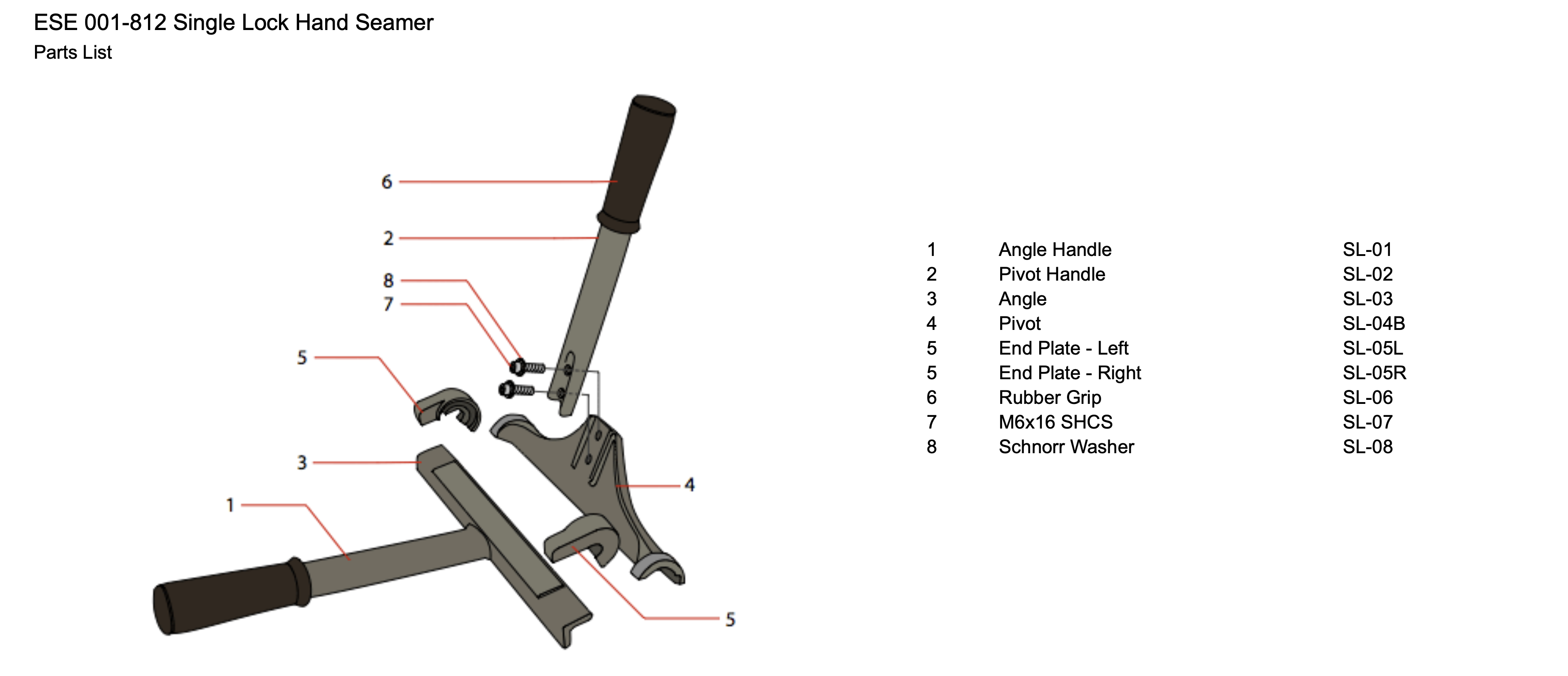 ese-001-812-single-lock-hand-seamer