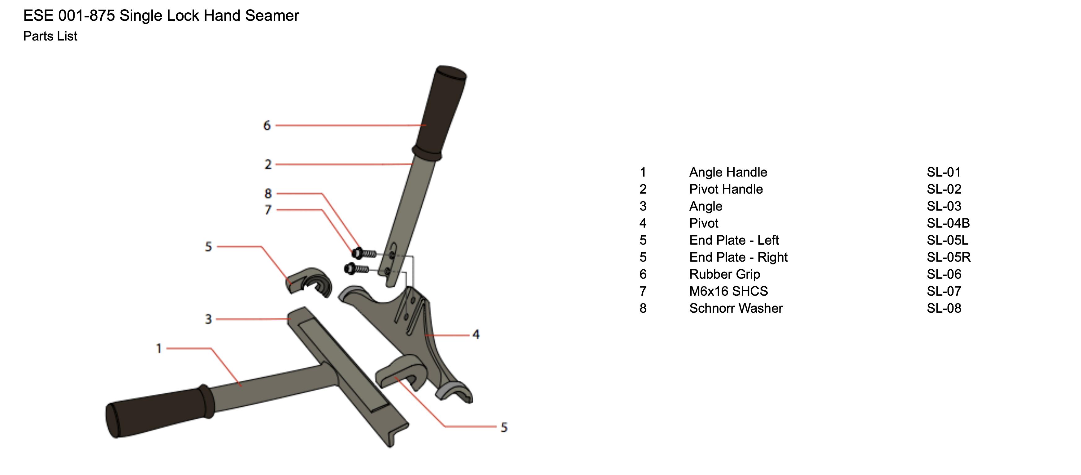 ese-001-875-single-lock-hand-seamer