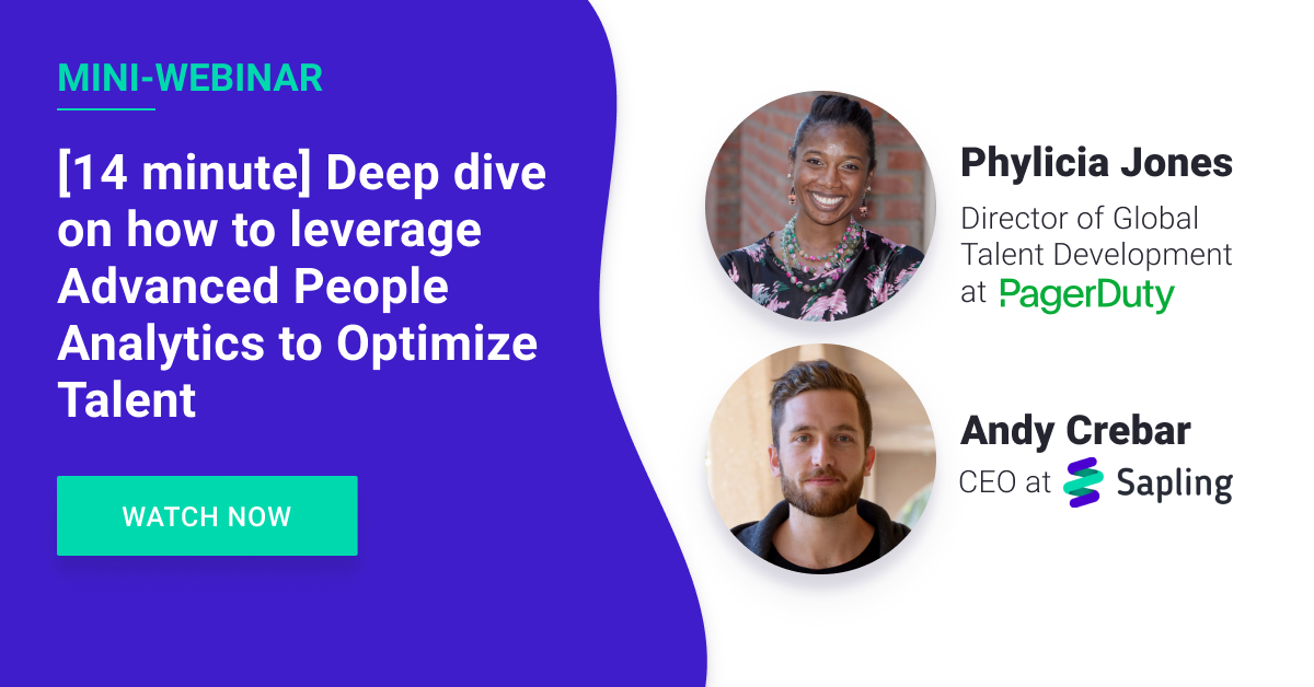 Deep Dive on How to Leverage Advanced People Analytics to Optimize Talent