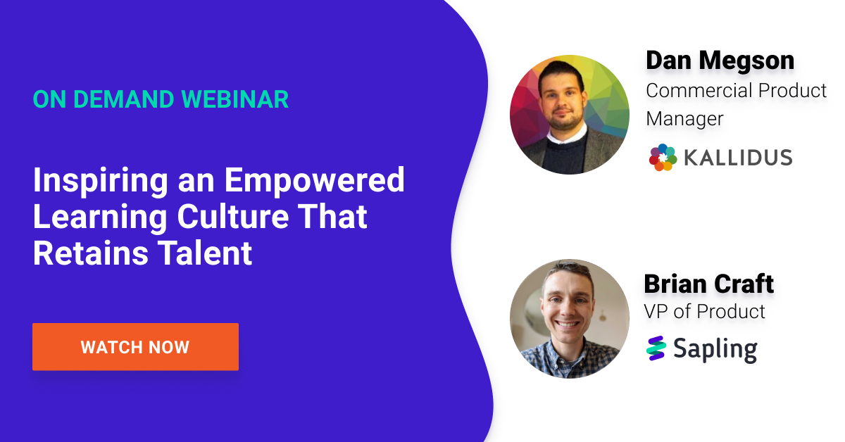 Inspiring an Empowered Learning Culture That Retains Talent