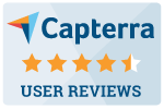 Sapling Rating on Capterra - 4.7 out of 5 Stars