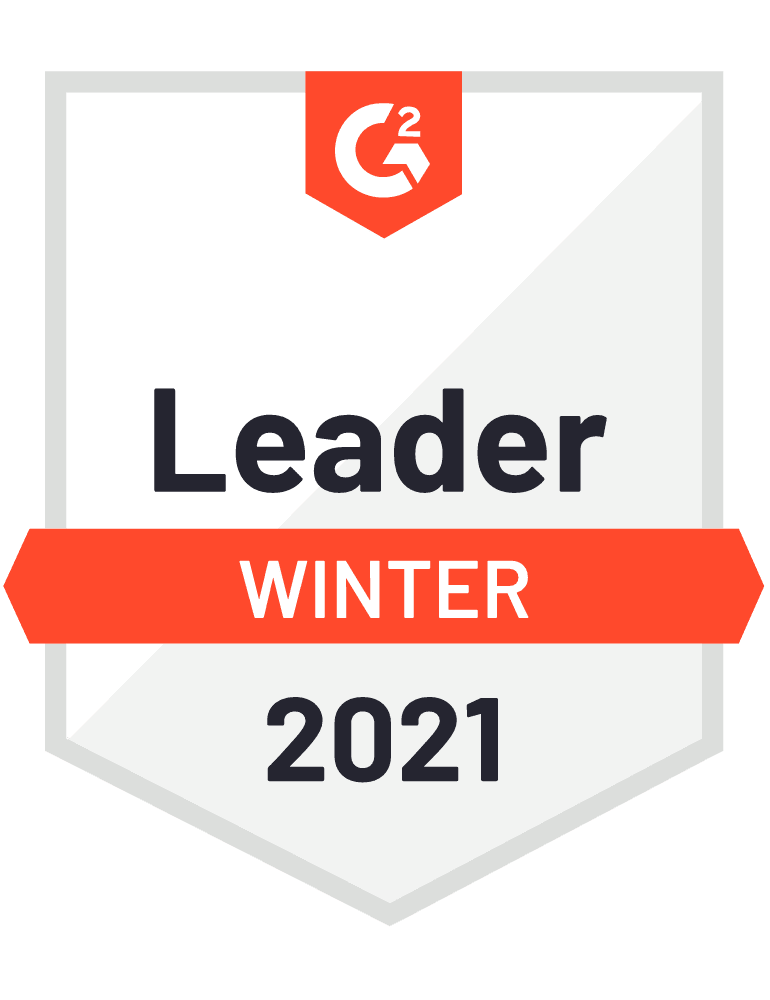 Sapling is a Winter 2021 G2 Leader!