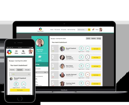 Kallidus Learning Management System (LMS)