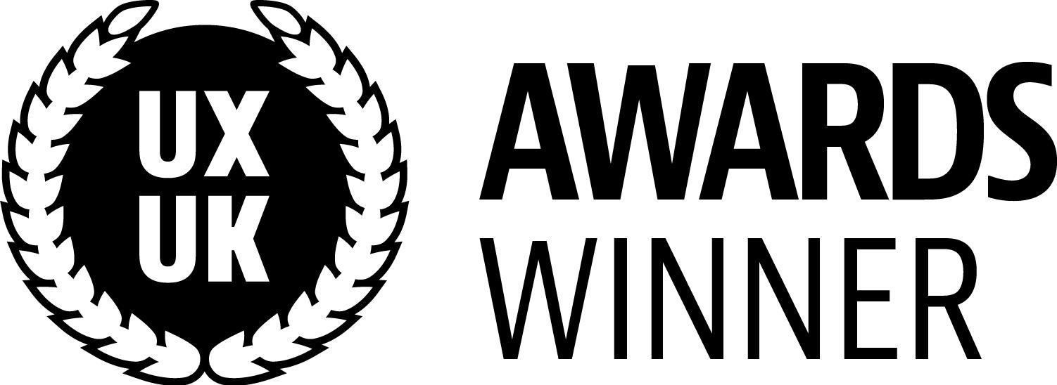 UX UK Awards Winner