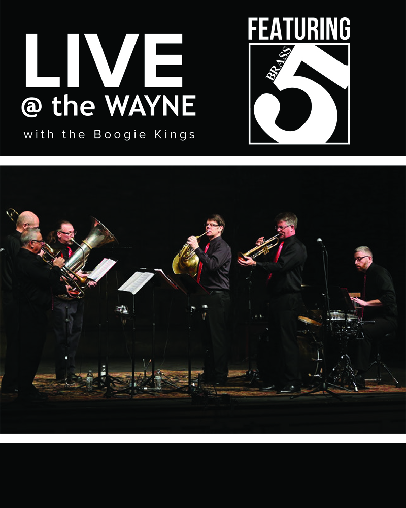 LIVE @ the Wayne featuring Brass 5