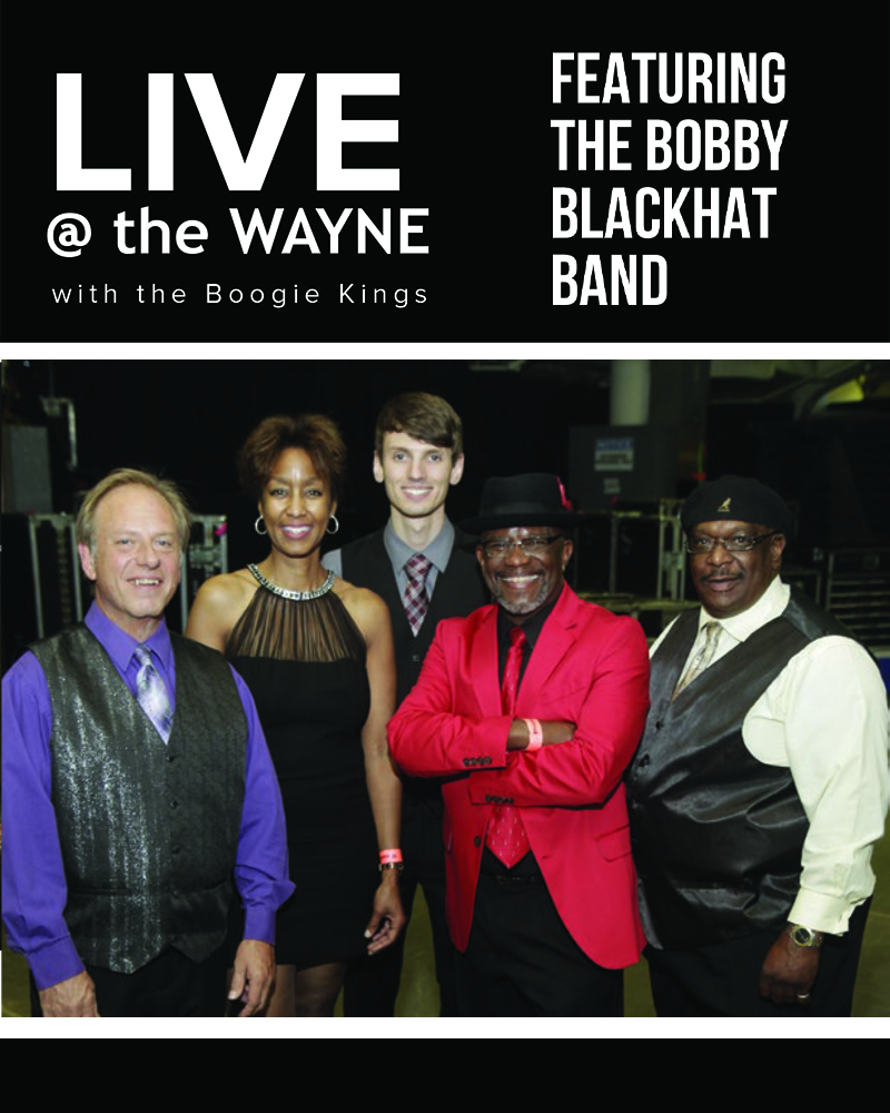 LIVE @ the Wayne featuring Bobby BlackHat