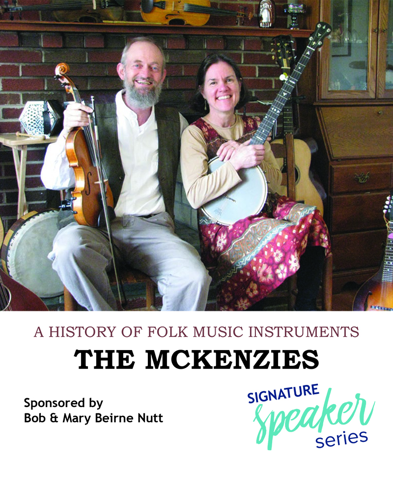 The McKenzies: A concert and history of folk instruments all in one