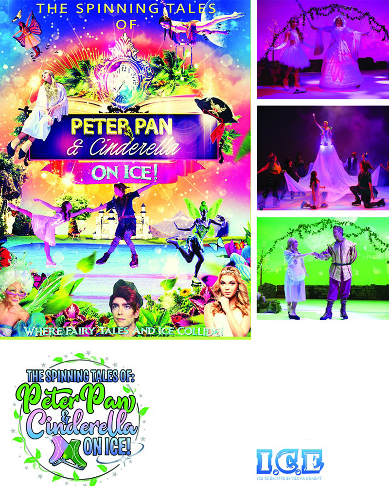 Peter Pan & Cinderella on Ice