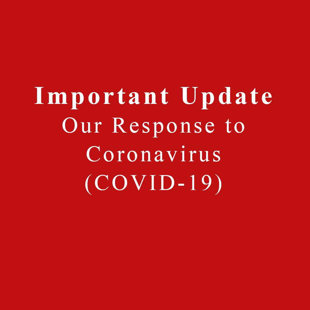 Official Statement Regarding Our Response to Coronavirus (COVID-19)