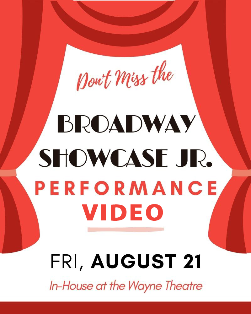 Broadway Showcase Jr - PERFORMANCE ON THE BIG SCREEN