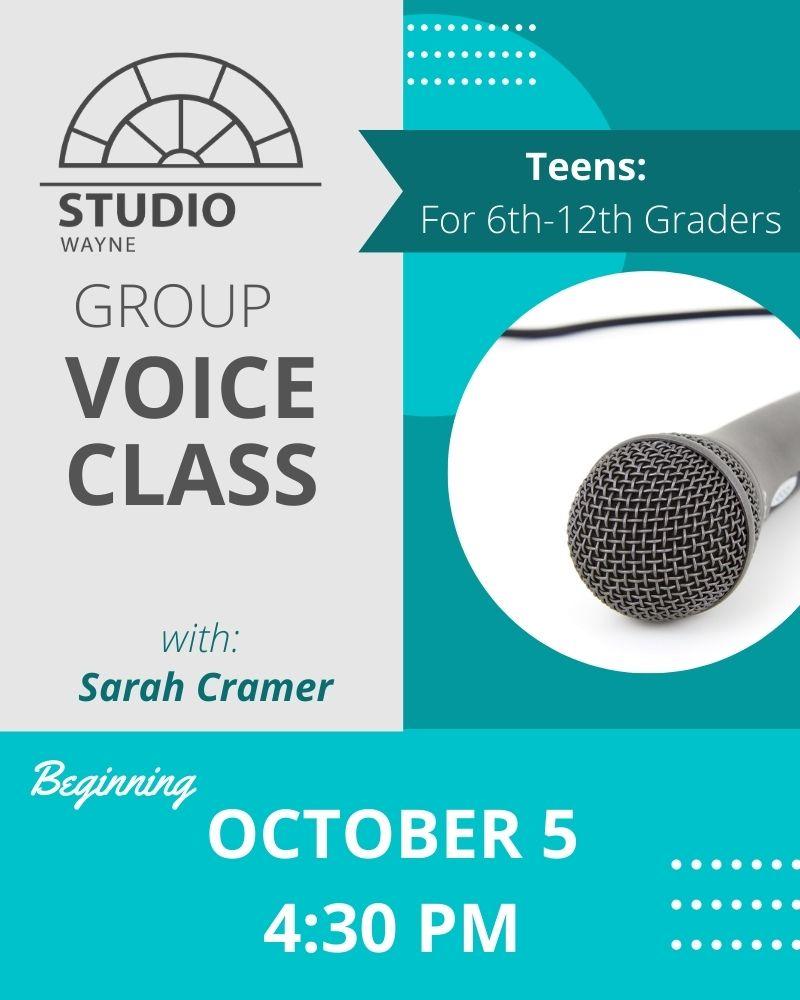 Studio Wayne (Class) - Group Voice Class (Teens)