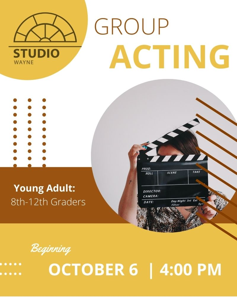 Studio Wayne (Class) - Acting (Young Adult Class - 8th-12th Graders)