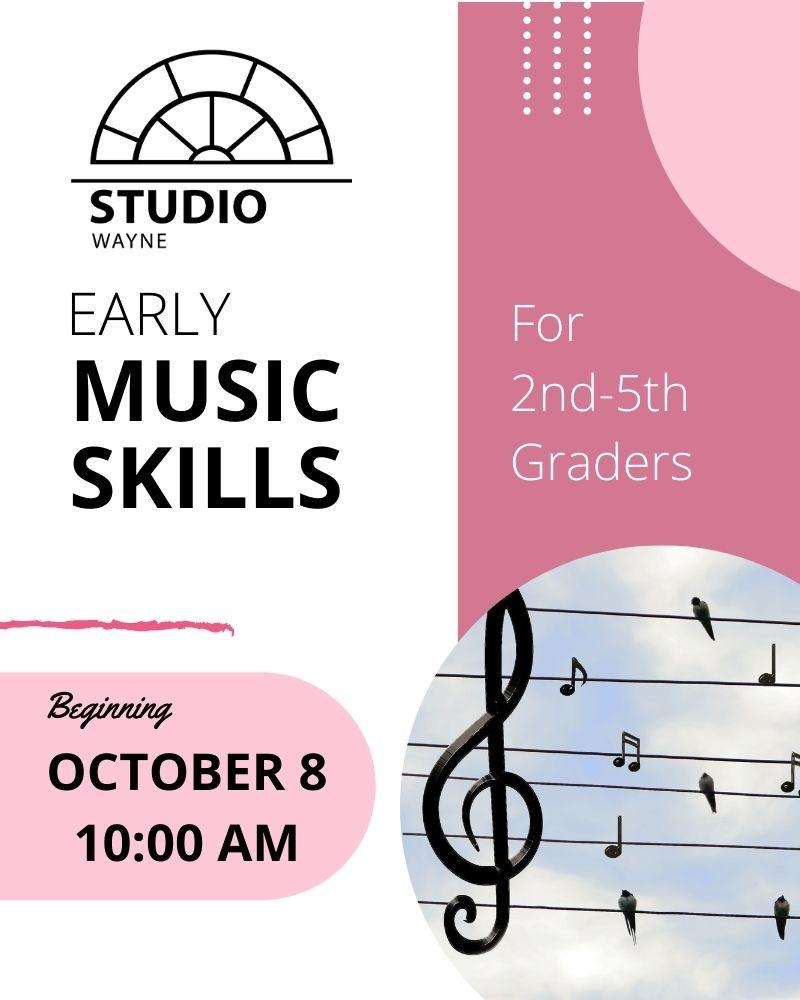 Studio Wayne (Class) - Early Music Skills (2nd-5th Grade)