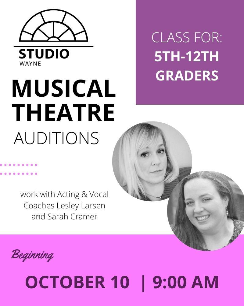 Studio Wayne (Class) - Musical Theatre Auditions