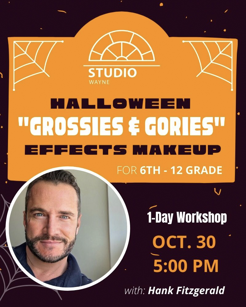"Studio Wayne (Class) - Halloween ""Grossies & Gories"" Effects Makeup"