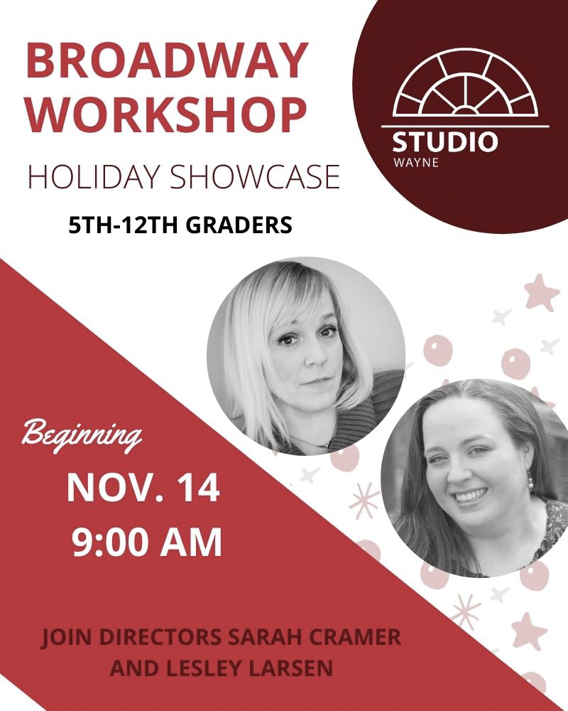 Studio Wayne (Class) - Broadway Workshop- Holiday Showcase