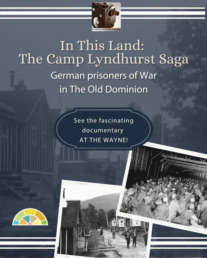 In This Land: The Camp Lyndhurst Saga: German Prisoners of War in The Old Dominion