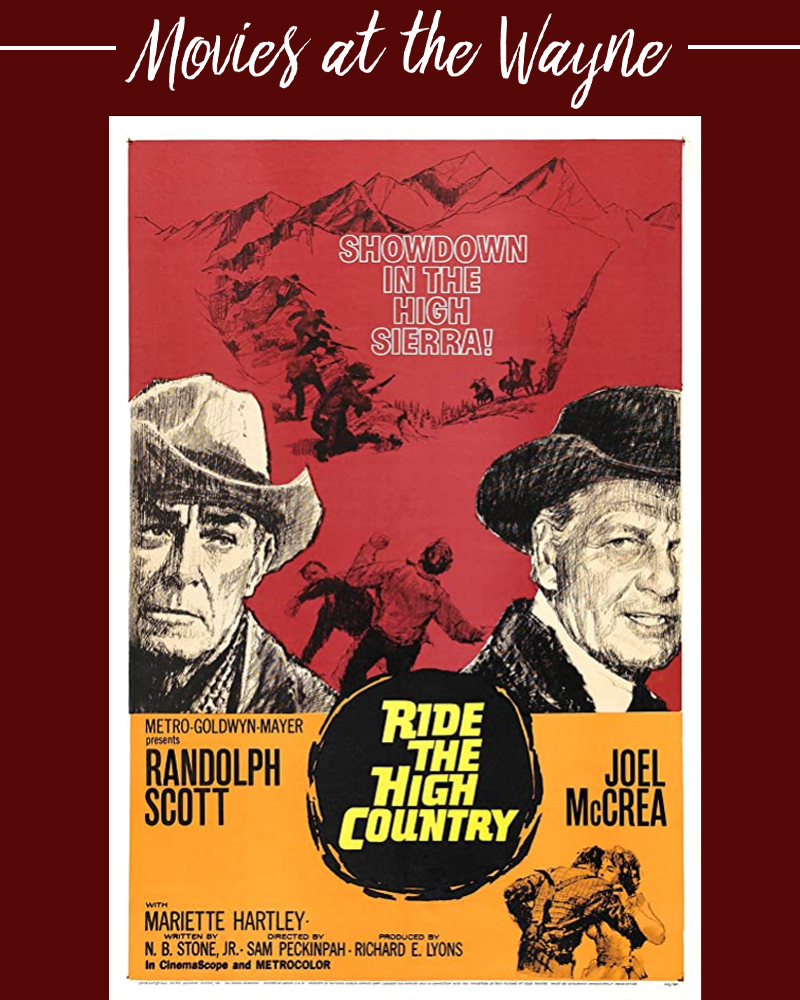 Ride the High Country (Film)