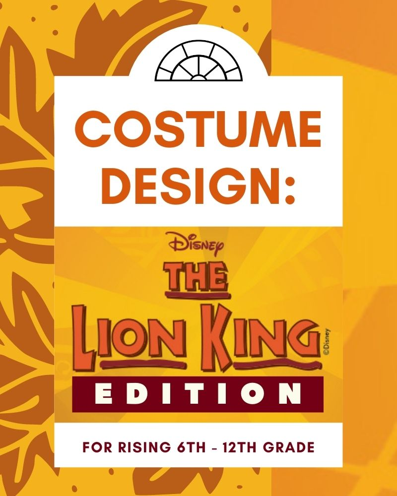 Studio Wayne: Costume Design (Lion King Edition)