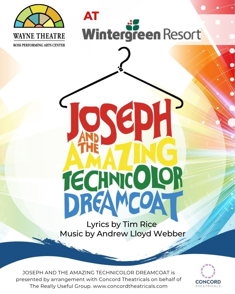 Joseph & the Amazing Technicolor Dreamcoat at Wintergreen Resort (Sept. 30)