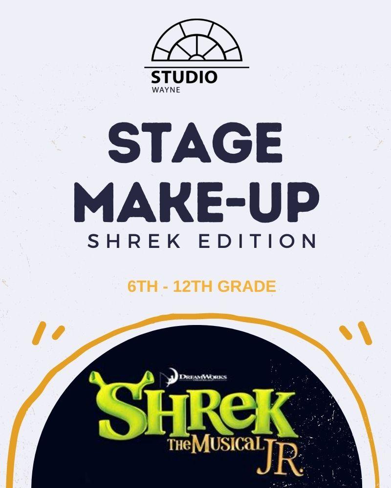 Studio Wayne: Stage Makeup: Shrek The Musical JR Edition