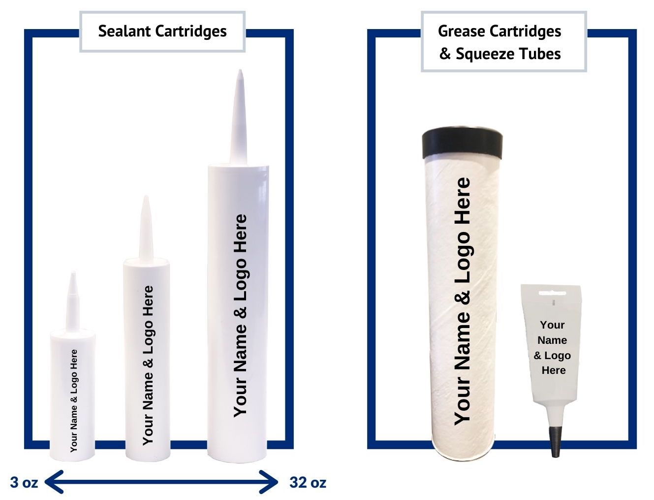 Sealant and Grease Cartridges