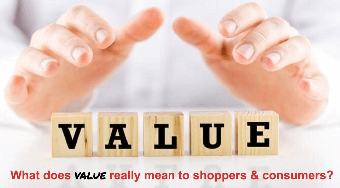 The 2 types of value for grocery shoppers