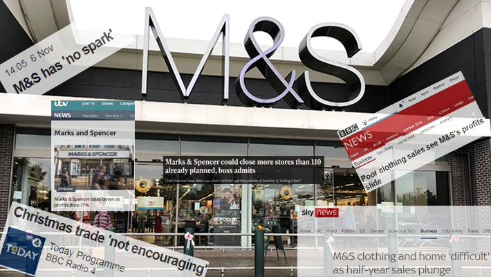 A solution (or 5) to the woes of Marks & Spencer