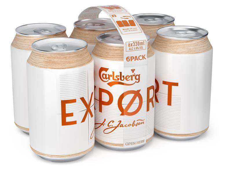 Shopper psychology to Carlsberg Export sustainable packaging