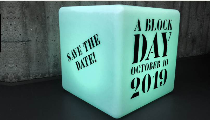 A block day 2019 - 10 oktober på A-House