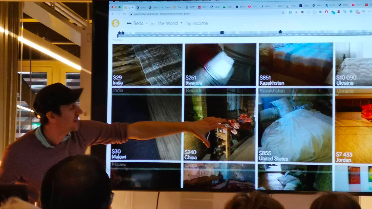 Datavisualisering: Daniel Lapidus inspirerar