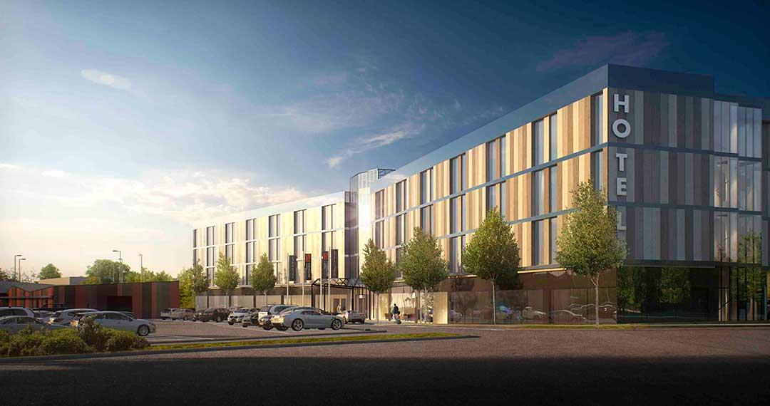 Vi bygger nytt åt Arlandastad Holding