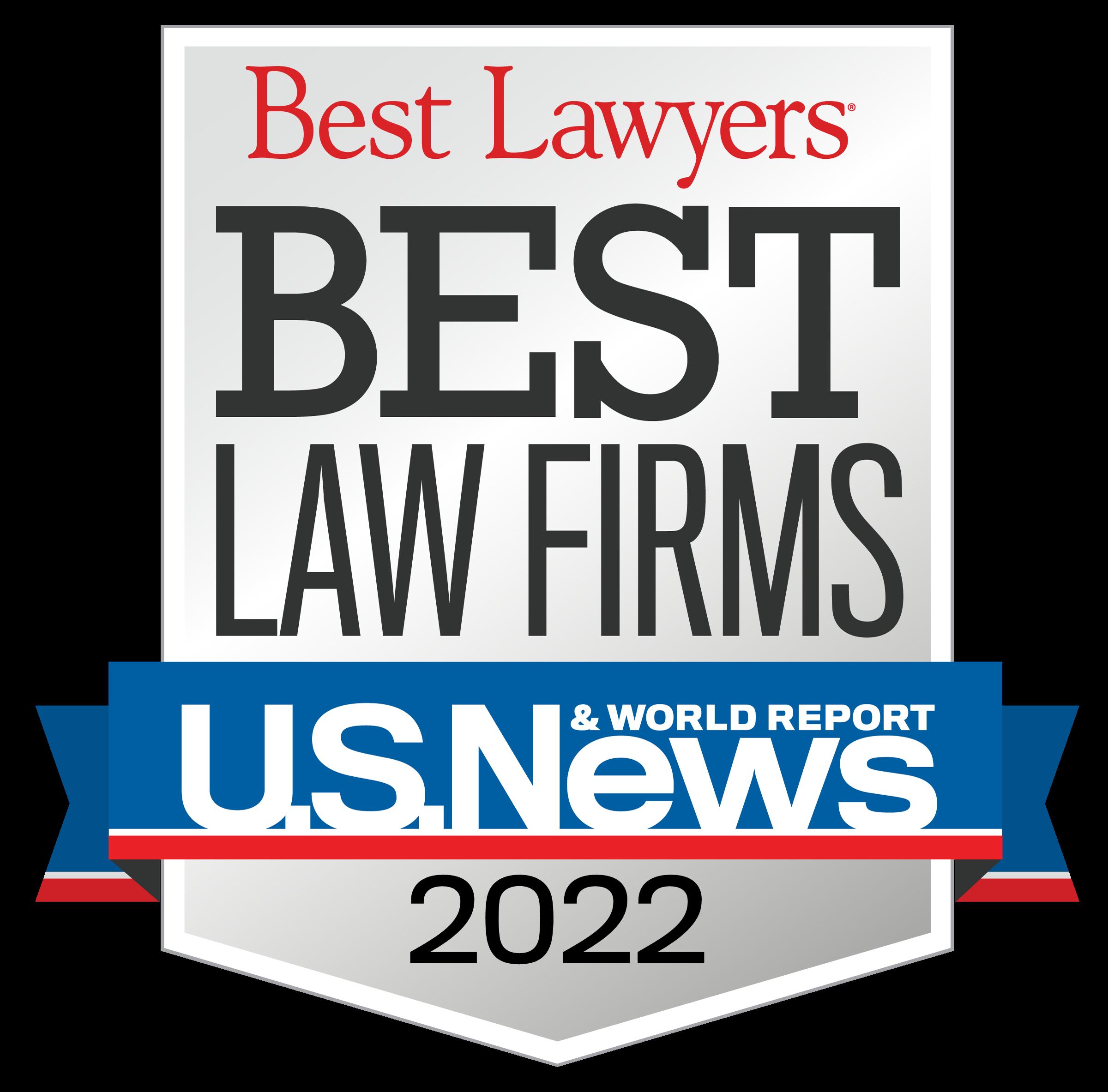 Best Lawyers Best Law Firm 2022