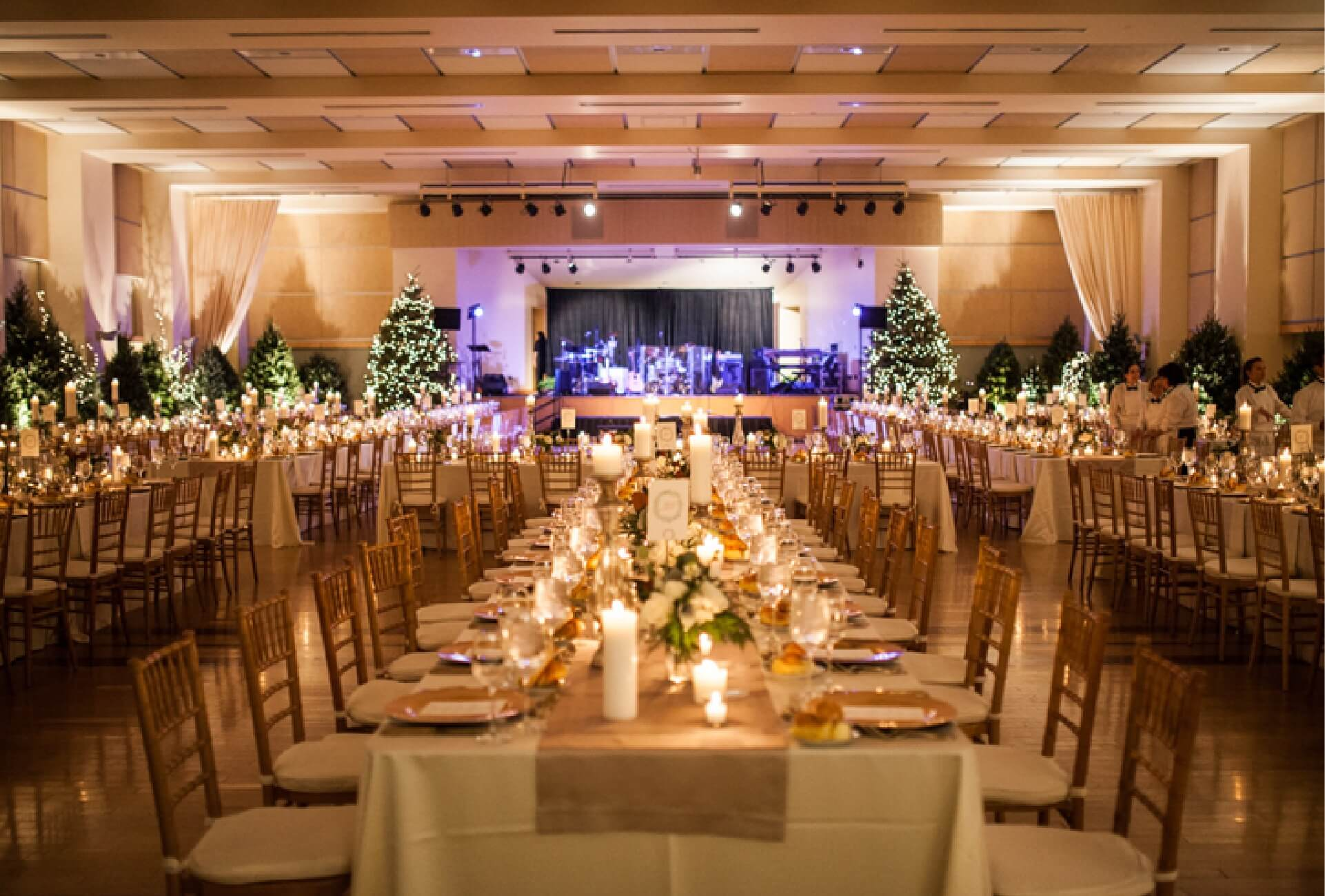 Customized weddings at The Circuit Center and Ballroom venue