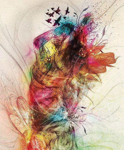 Expressive artistic image
