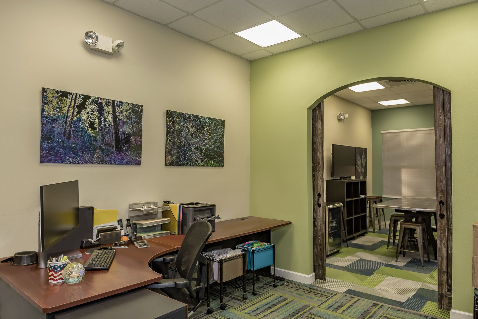 Kent Kimes Engineering - Colette's Area Toward Conference Room