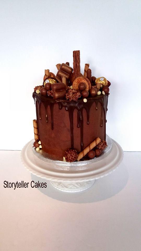 chocoholic chocolate drip cake
