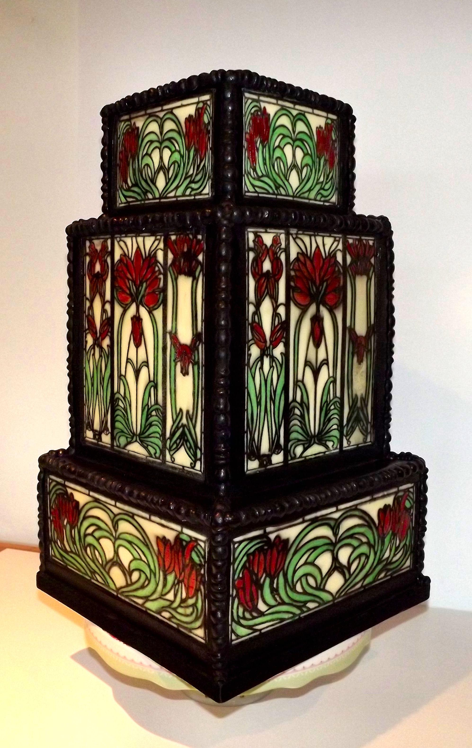 stain glass wedding cake