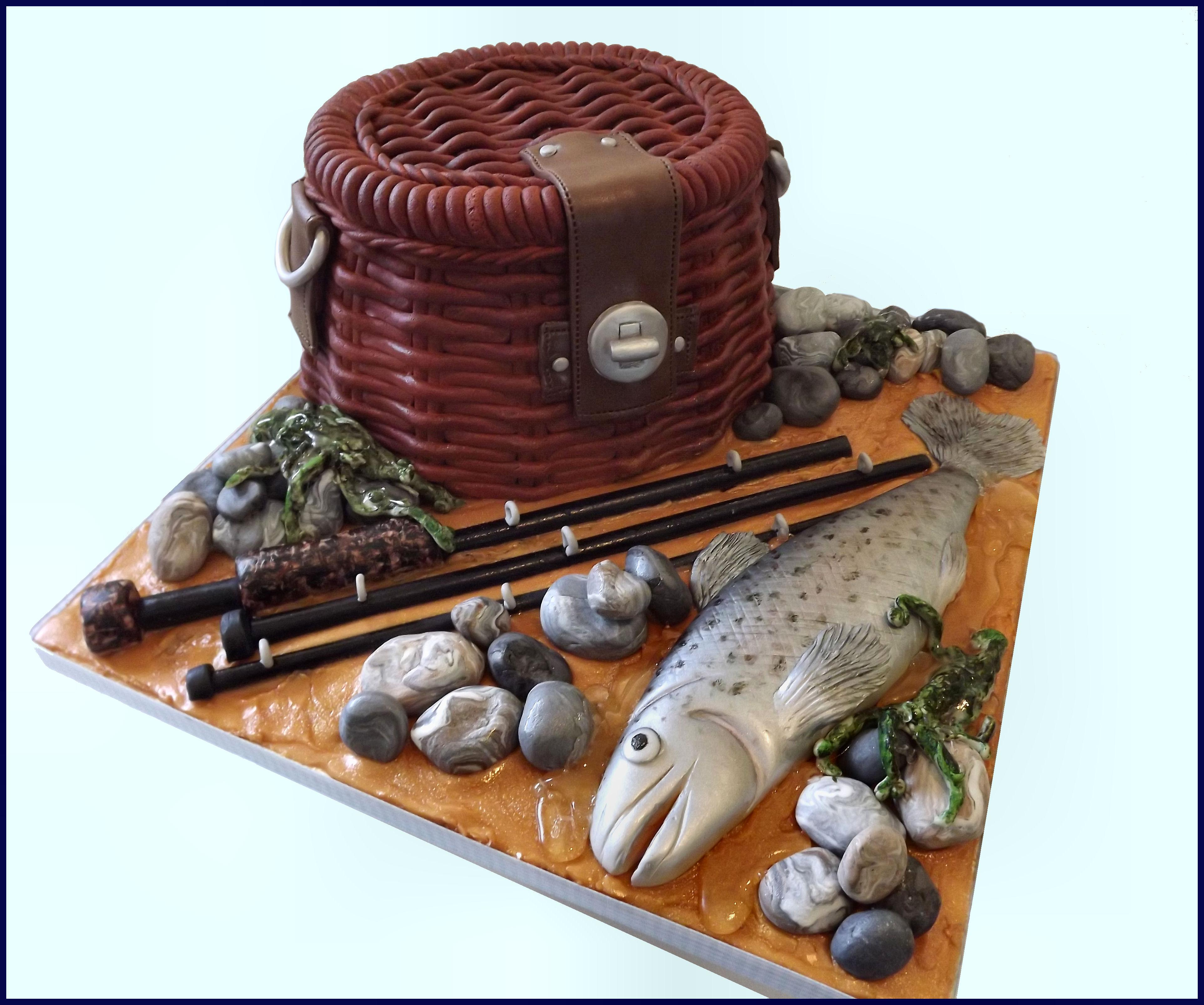 fishermans birthday cake