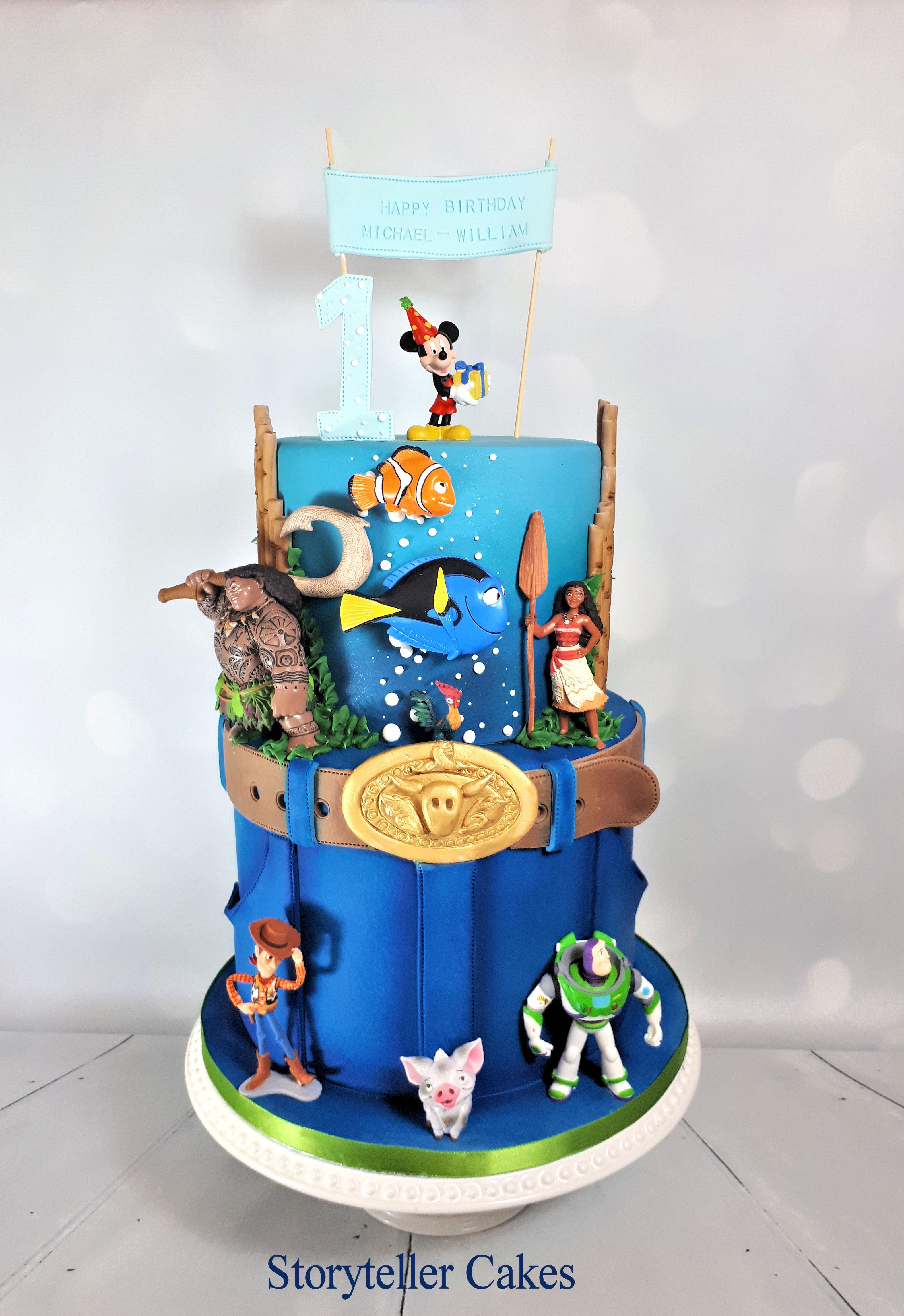 disney boys birthday cake