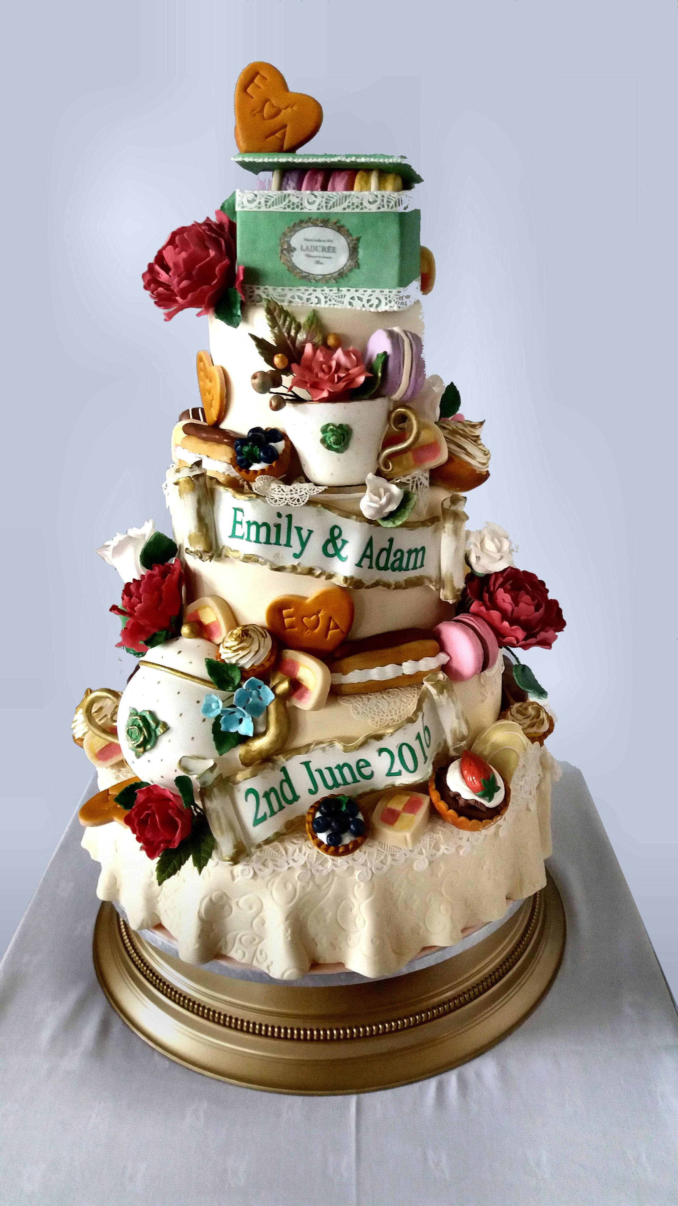 Patisserie Wedding Cake